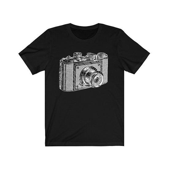 Vintage Camera Unisex Jersey Short Sleeve Tee
