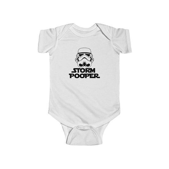 Storm Pooper Infant Fine Jersey Bodysuit