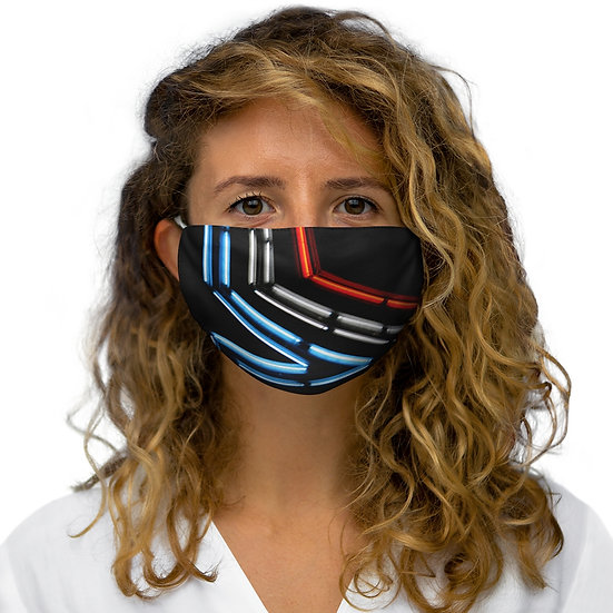 Star City Snug-Fit Polyester Face Mask
