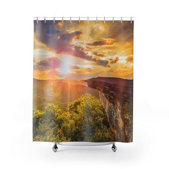 McAfees Knob Shower Curtain