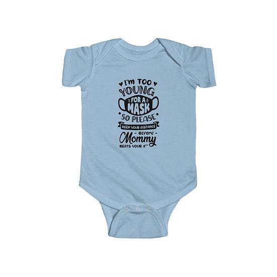 No Mask Infant Fine Jersey Bodysuit