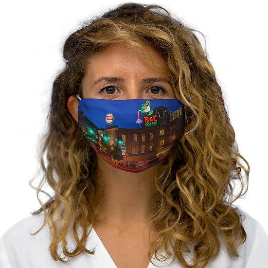 Bright Lights, Big City Snug-Fit Polyester Face Mask