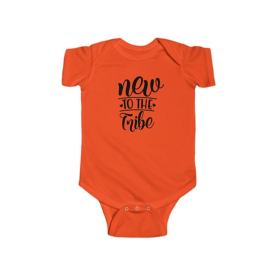 New To The Tribe Infant Fine Jersey Bodysuit