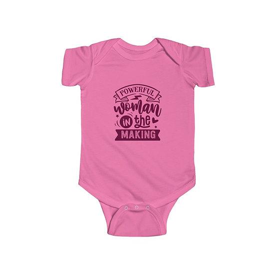 Powerful Woman In The Making Infant Fine Jersey Bodysuit