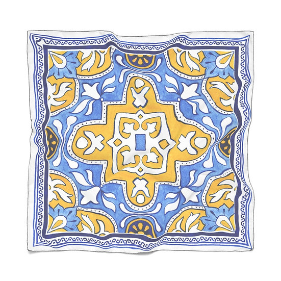 Life in Lisbon Poly Scarf