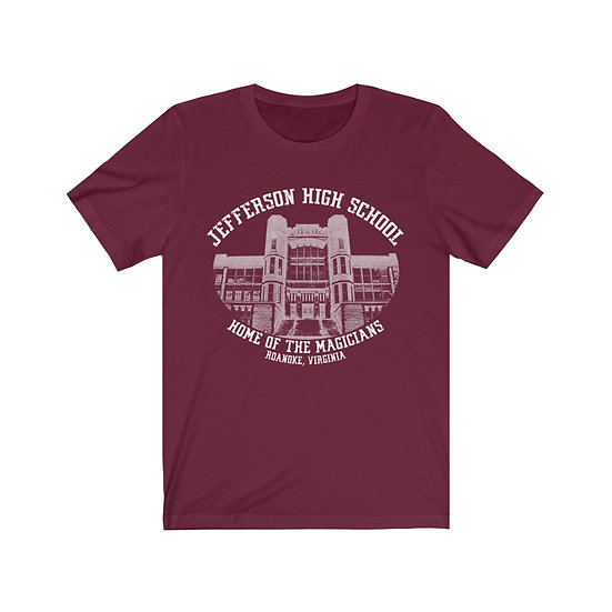 Jefferson High School Unisex Jersey Short Sleeve Tee