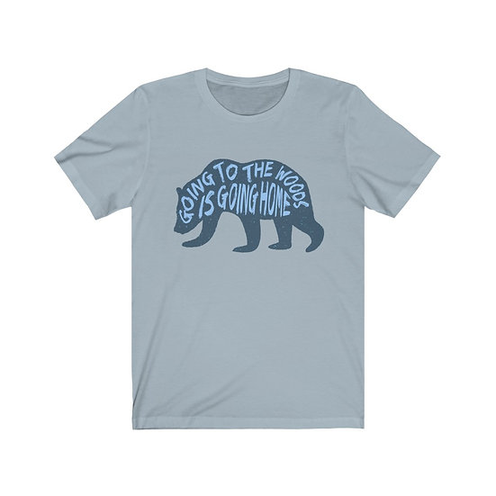 Going To The Woods Unisex Heavy Cotton Tee