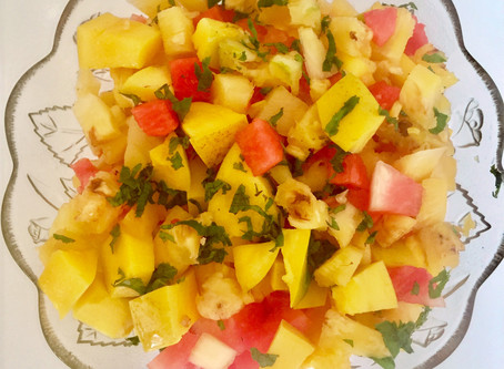 MANGO FRUITS SALAD