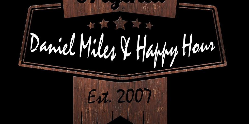 Daniel Miles & Happy Hour Live on The Patio