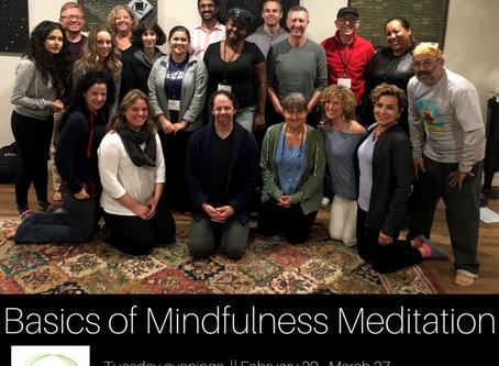 Meditation Class Starts Soon!