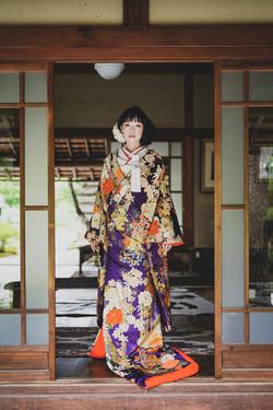 慶長御所車紋 紫 (8)