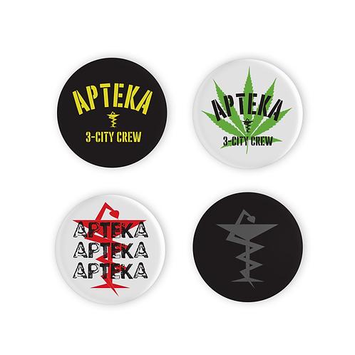 Piny APTEKA (4 sztuki)