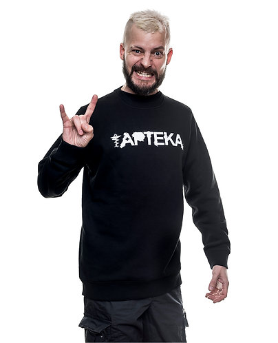 Bluza raglanowa unisex APTEKA