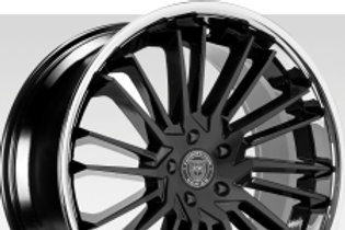 "22"" Lexani Virage Wheels and 305 WIDE Lexani Tire Package"