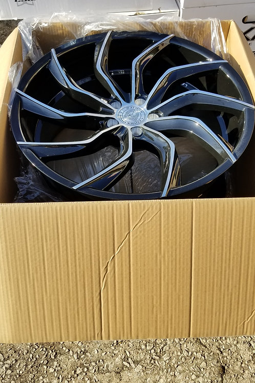 "22"" Staggered Lexani Matisse Slingshot Package"