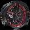 Thumbnail: 22x9 & 22X10.5 Polaris Slingshot Slingshot red/black Marquee wheel and 305 tire