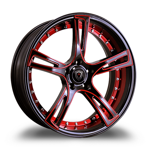 """20"""" staggered 3247 Polaris Slingshot 305 wide tire package"""