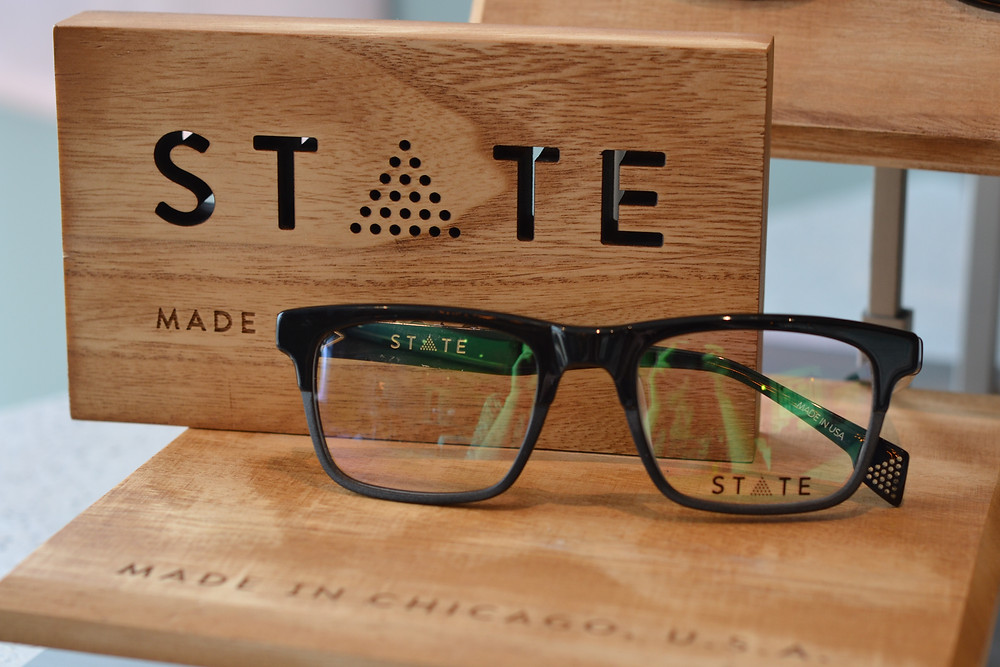 State frames glasses