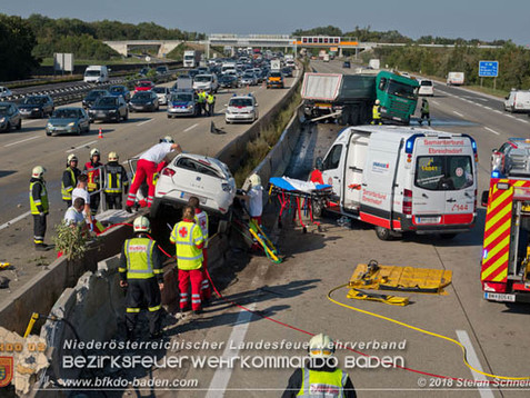 Schwerer Verkehrsunfall mit eingeschlossener Person