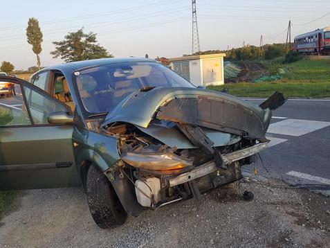 Glimpflicher Verkehrsunfall mit Aspangbahn