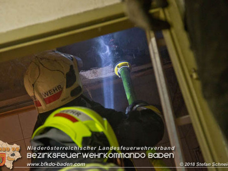 Dachstuhlbrand in Wienersdorf