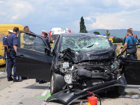 Schwerer Verkehrsunfall mit Todesfolge