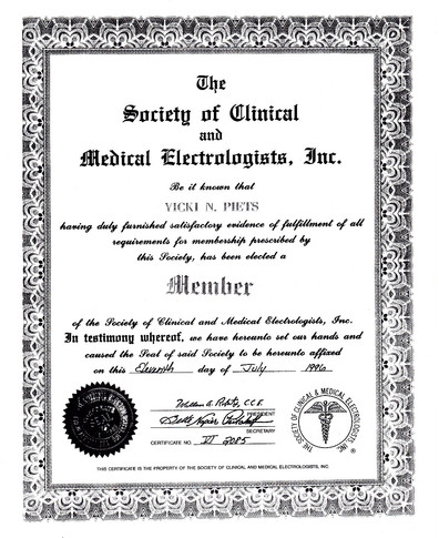 Clinical and Medical Electologists