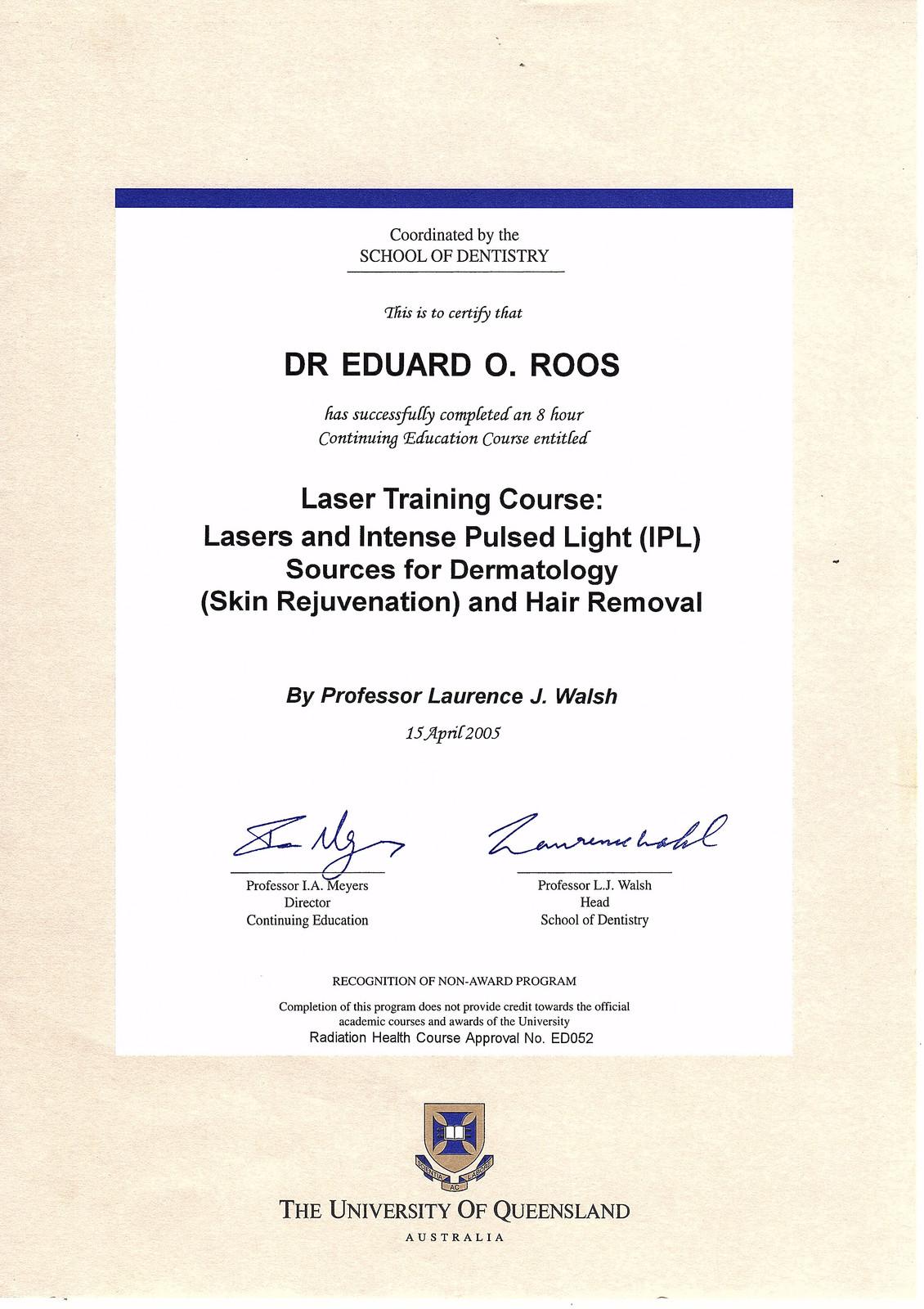 Laser Ipl Certified Dermatology Skin Rejuvenation Hair Removal