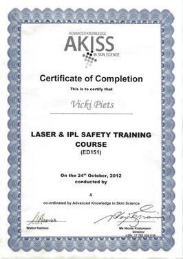 Laser & IPL Safety Training