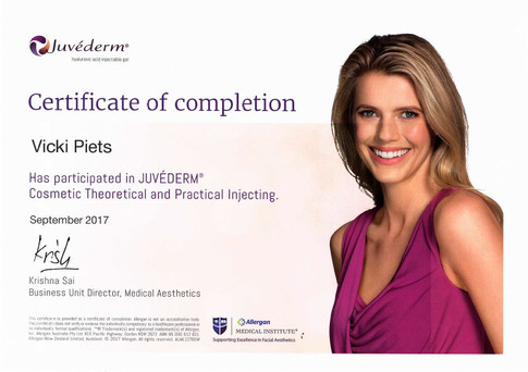 Juvederm Cosmetic Injecting