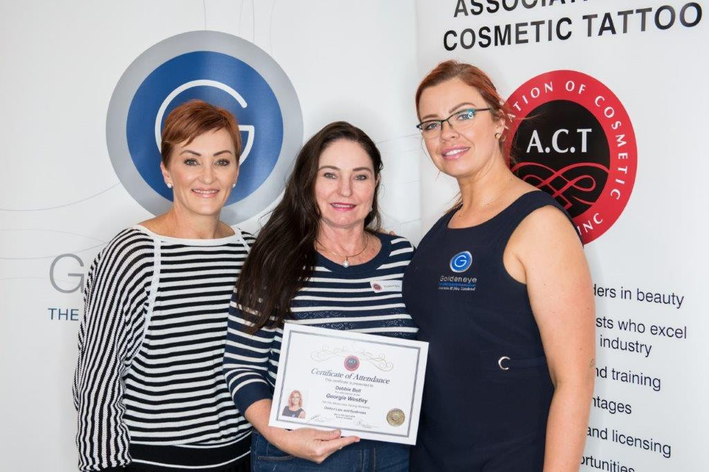 Debby Bell Cosmetic Tattoo expert Darwin