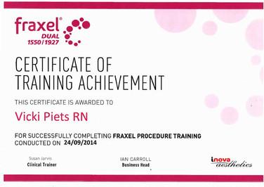 Fraxel Procedure Training