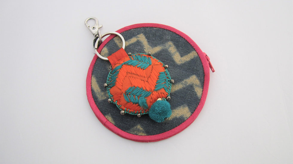 Coin pouch with Keychain