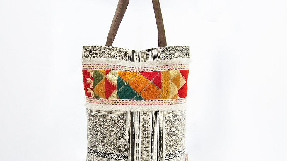 White Cotton Canvas Tote Bag