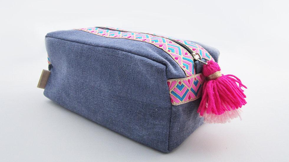Powder Blue Travel/cosmetic kit