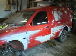 Escort Van Body Repairs