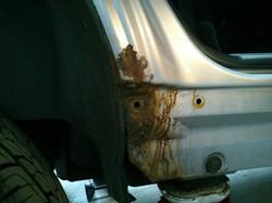 Overfinch Wheel Arch Repairs