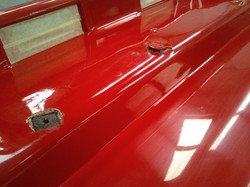 Damaged Rear Bumper