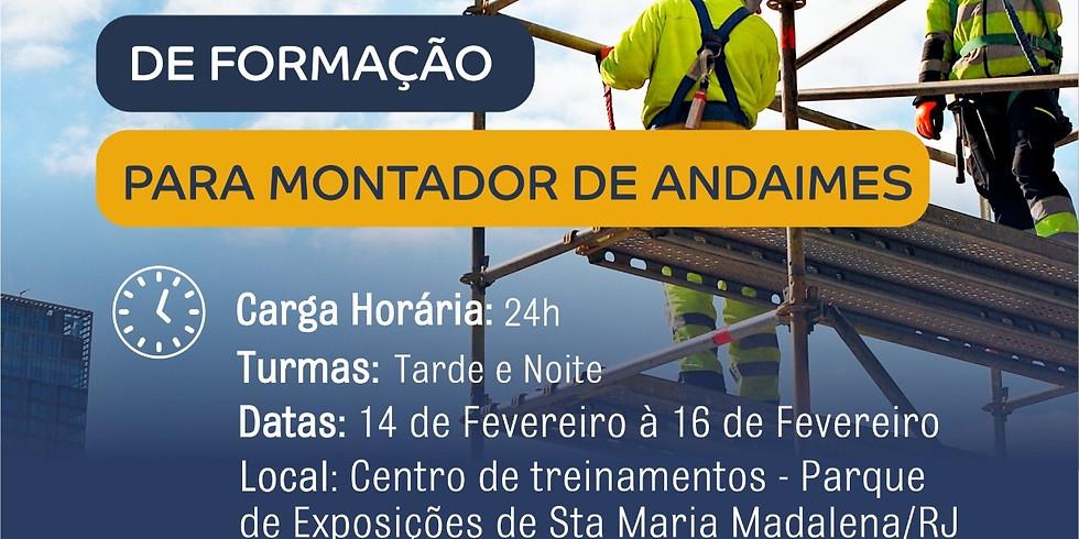 Qualificação para Montador de Andaimes