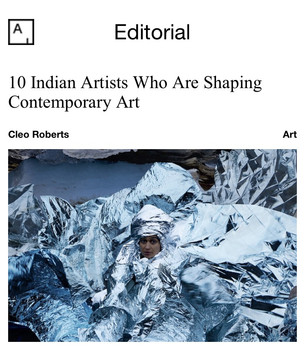 Article for Artsy