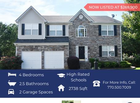 Newly Priced! 3731 Roxfield Drive, Buford, GA 30518