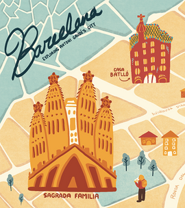 Antonio Gaudi's Barcelona