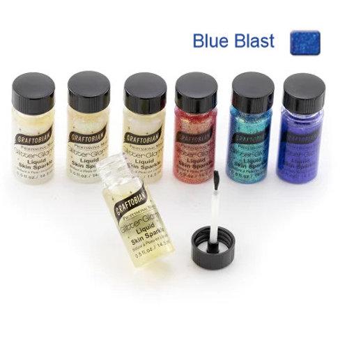 GlitterGlam Liquid Skin Sparkle - Blue Blast