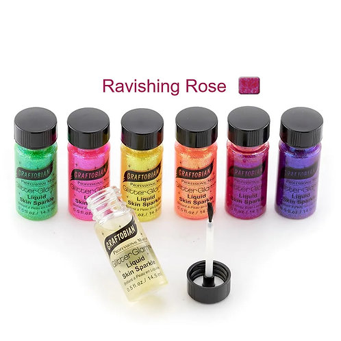 GlitterGlam Liquid Skin Sparkle - Ravishing Rose