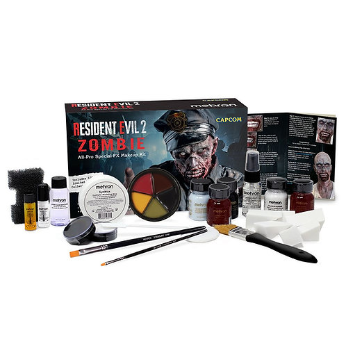 Resident Evil 2 Zombie All Pro Makeup Kit