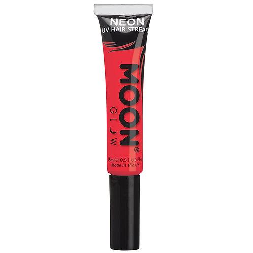 Neon UV Hair Streaks - Red