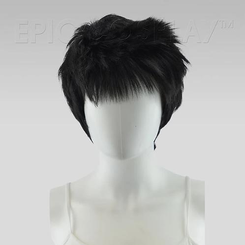 Hermes Black Wig