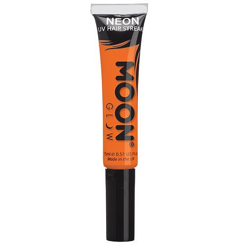 Neon UV Hair Streaks - Orange