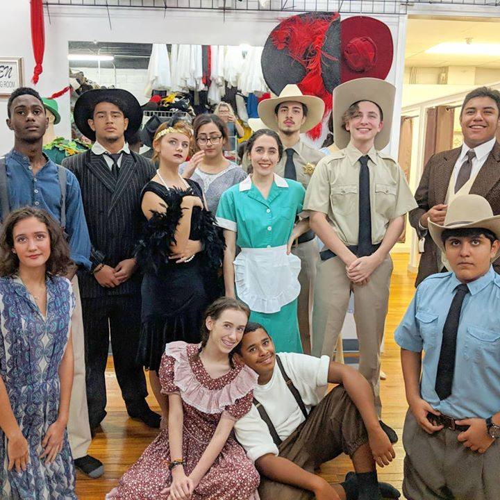 Overton HighSchool producton of Bonnie and Clyde