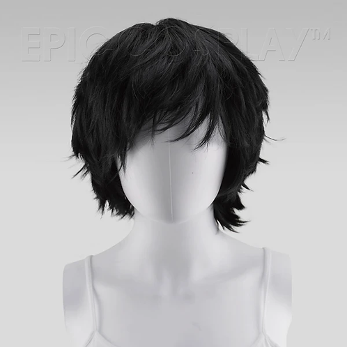 Apollo Black Wig